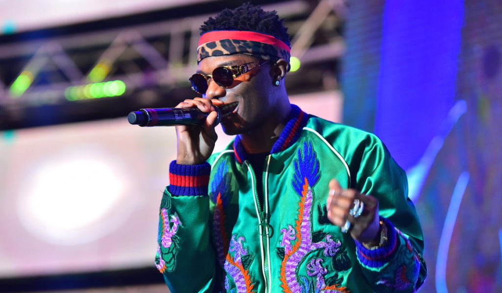 Watch Wizkid Live Show from London