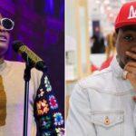 Wizkid throws shade at Davido at his London concert