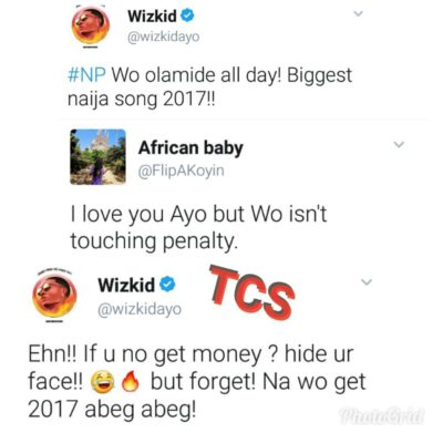 WO Is My Biggest Naija Song 2017 – WizKid