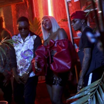 Photos: Tiwa Savage – Ma Lo ft. Wizkid (Video Loading..)