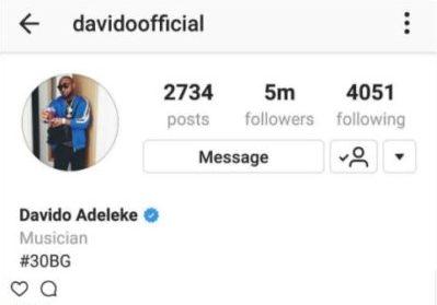 Davido-Follower