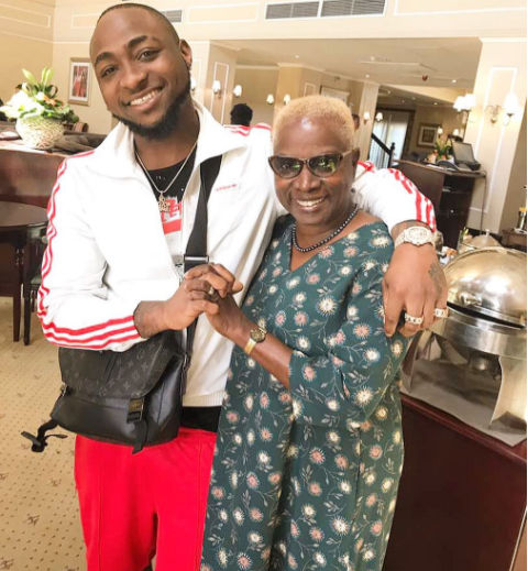 Davido meets Angelique Kidjo in South Africa