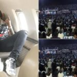 #30BillionAfricaTour: Over 50,000 Came Out For Davido's Show In Sierra Leone