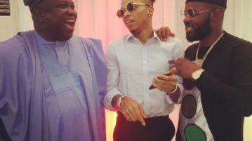 Tekno, Falz and Ambode