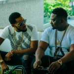 Picture Of D'banj and Wande Coal Staring At Each Other