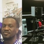 Paul Okoye Shares Picture Of His Son Working In The Studio