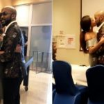 BankyW and his wife, Adesua Etomi are now legally married as they just signed the papers this afternoon(Photos)