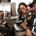 Adesua Etomi & BankyW fly out to Cape Town, South Africa in preparation for their white wedding