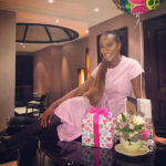 Aliko Dangote surprises DJ Cuppy at her 25th birthday party (photos)