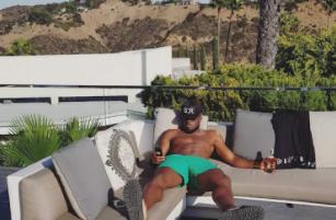 DJ Cuppy's ex, Victor Anichebe
