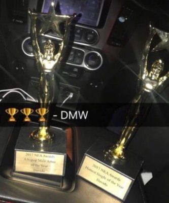 Davido NEA awards