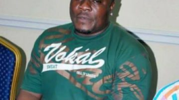 Don Jazzy's body guard