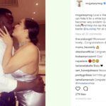 MC galaxy shows off his girlfriend, shares photo of them kissing on Instagram
