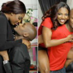 'Love the way he loves me' – Annie Idibia says as she shares loved up selfies with 2face