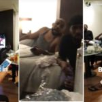 BankyW Pictured With His Friends As They Prepare For His Traditional Wedding Today