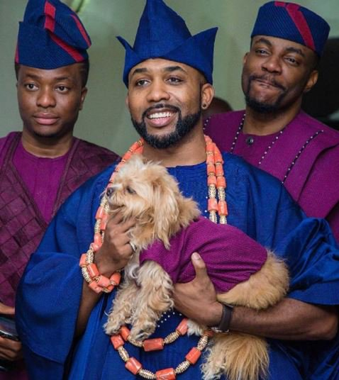 banky w and dog