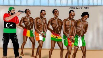slaves in Libya