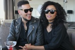 Again! SA Rapper AKA Announces Break Up WIth Bonang Matheba on Twitter and South Africans Say It's Publicity Stunt
