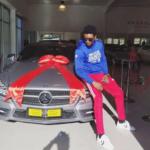 Former BBA Star, Tayo Faniran, Acquires New Mercedes Benz [Photos]