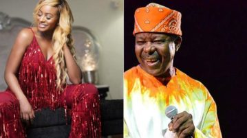 DJ Cuppy and Sunny Ade
