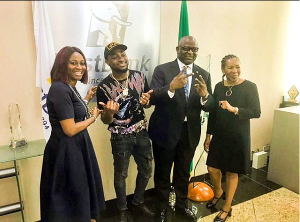 Davido Lands Deal With First Bank Nigeria