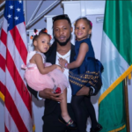 Flavour parties with his daughters at the US Consular General's House [Photos]