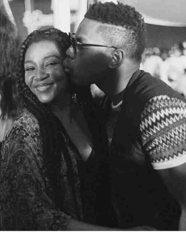 John Boyega and Genevieve Nnaji