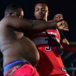 Lmao!! How will you caption this photo of Olamide and his 'Shaku Shaku' dance partner