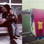 Peter Okoye's Son, Cameron Makes It Into FC Barcelona Lagos Team After Tryout