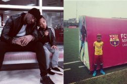 Peter Okoye's Son