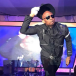 Lol…Tony Elumelu channels Michael Jackson at the 70s Disco themed Christmas party of his company