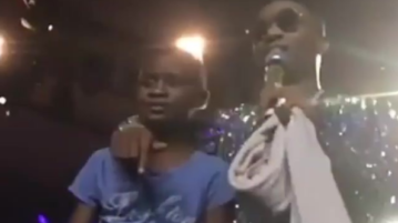 Wizkid Signs 10 Year Old Boy To Starboy Records