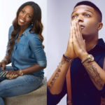 Must Watch: Checkout What Wizkid Did To Tiwa Savage On Stage