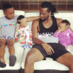 Paul Okoye shares photo with his kids; Andre, Nathan and Nadia…