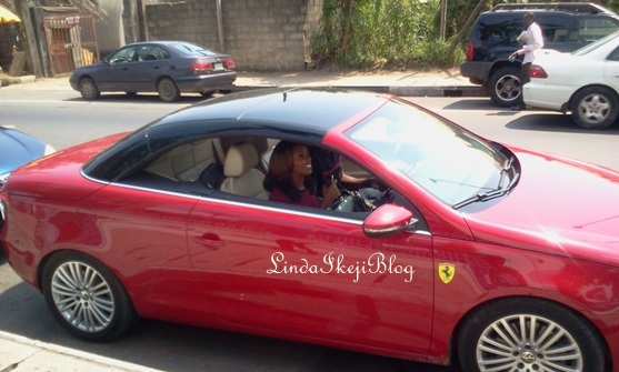 tiwa savage car