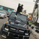 Nigerian rapper, Zoro shows off his brand new G-Wagon [Photos]