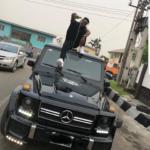 Nigerian rapper, Zoro shows off his brand new G-Wagon [Photos]