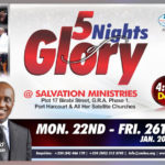 Braze Up! For Salvation Ministries – 5 Night Of Glory 2018