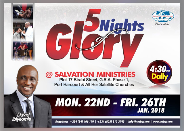 5 Night Of Glory 2018