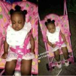 Davido's 2nd Daughter, Hailey Looks So Adorable!