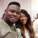 Dr Sid's wife, Simi Esiri seen with her wedding ring back on