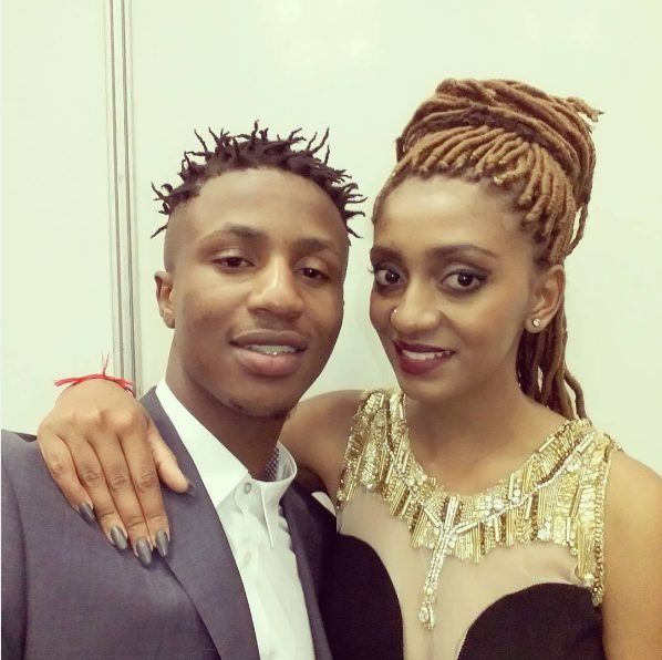 EMTEE and girlfriend