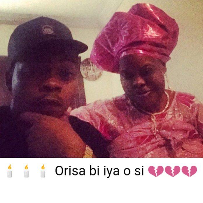 Nigerian singer Olamide Loses His Mum