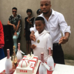 Nollywood star Charles Okocha celebrates son's 10th birthday