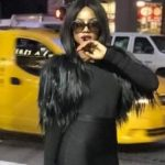 Seyi Shay dazes in all dark in the city of New York  [Photos]