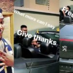 Oritsefemi Buys Himself A New Peugeot 307 Convertible To Celebrate Birthday
