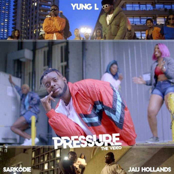 Yung L - Pressure Ft. Sarkodie & Jaij Hollands