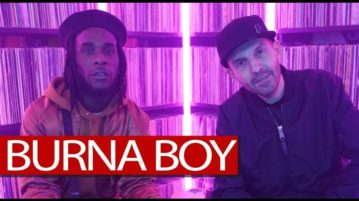 "Burna Boy Talks New Album ""Outside"" , UK Scene And More On Tim Westwood + Freestyle"