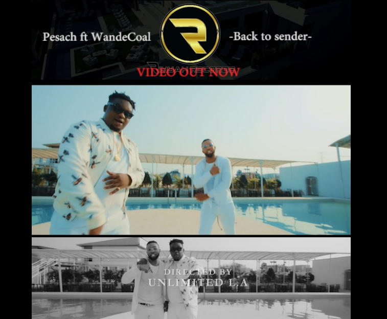 Pesach ft Wande Coal - Back To Sender