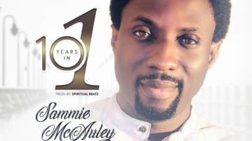 Sammie McAuley - 10 years in 1